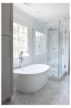 Mold In Bathroom, Steam Showers Bathroom, Bathroom Fixtures, Bathroom Storage, Bathroom Interior, Bathroom Organization, Bathroom Cabinets, Master Bathrooms, Shower Rooms