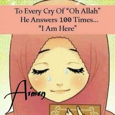 Always needing the comfort in Allah during every moment in the day. Always remembering the beauties of the world.