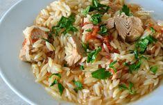 "cretangastronomy.gr - ""Γιουβέτσι"" με τόνο (ή άλλο ψαρικό κονσέρβας) Risotto, Ethnic Recipes, Food, Essen, Meals, Yemek, Eten"
