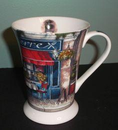 Cafe De Paris 8017 Coffee Mug by Pimpernel Art for the Table Le Bistrot Pierre #Pimpernel