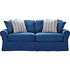 Cindy Crawford Home Beachside Blue Denim Sleeper. Denim SofaLove ... 5af808dfd99