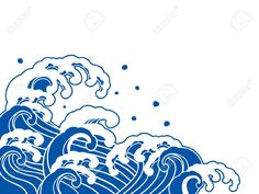 Image result for japanese wave vector