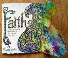 visual blessings: Journaling Faith