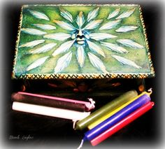 Divination Kit Complete Tarot Crystal by leighswiccanboutique, $67.00