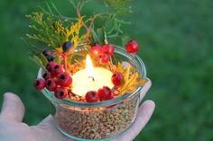 Podzimní svícen - Testováno na dětech