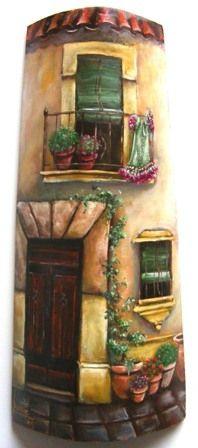 tejas pintadas para jardin - Google'da Ara