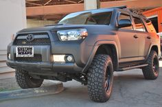 I really feel like toyota nailed it with the design of the latest 4runner. Also, flat paint job. Want.