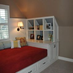 Built In Daybed Design Ideas, Pictures, Remodel, and Decor