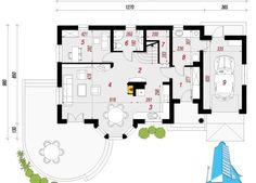 Проект жилого дома с мансардой и гаражом   Proiectari si Constructii My Dream Home, Villa, Floor Plans, Diagram, Home, Floor Layout, Automobile, House, My Dream House