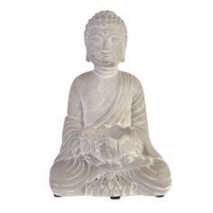 TEALIGHT HOLDER Buddha 12.5x10x18.5 | Karma Living