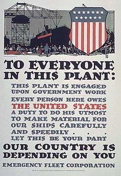 WW1 US Poster