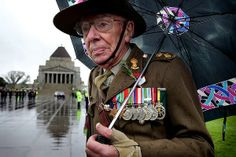 Anzac Day in Melbourne