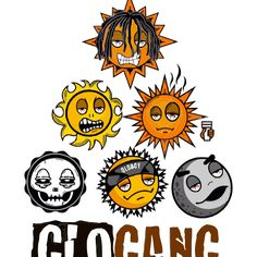 Glo Gang Characters Glo gang logo emoji glo gang