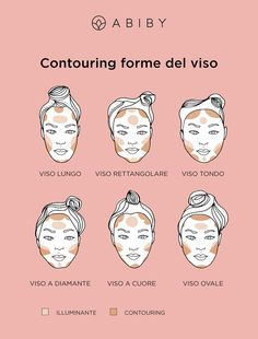 Ecco come realizzare il contouring in base alla forma del vso Makeup Tips, Eye Makeup, Hair Makeup, Make Up Tricks, Beauty Make Up, Makeup Cosmetics, Makeup Inspiration, Beauty Skin, Contour