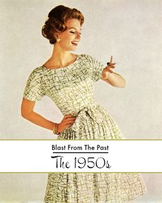 Blast From The Past: The 1950s