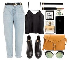 """""""be brave"""" by rosiee22 ❤ liked on Polyvore featuring River Island, Acne Studios, Cheap Monday, H&M, Givenchy, Urban Outfitters, Ariel Gordon and Gucci"""