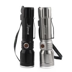 CREE T6 LED Flashlight 5000 Lumens Zoomable 18650 Tactical Torch Light 3 Mode