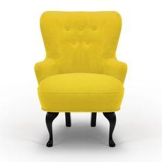 April fåtölj Varese Primerose, gul i gruppen Fåtöljer hos RUM21 AB (123128)