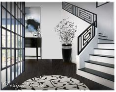"""Contest: Black & White Room"" by mbtherrell on Polyvore"