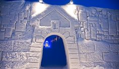Kemin LumiLinna The SnowCastle of Kemi, Suomi Finland. Snow Castle, Hotels, Space Place, Wonderful Places, Beautiful Things, Medieval Castle, Sustainable Development, Geology, Finland