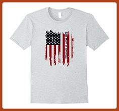 Mens Best Mom In America Matching Family American Flag Shirt Small Heather Grey - Relatives and family shirts (*Partner-Link)