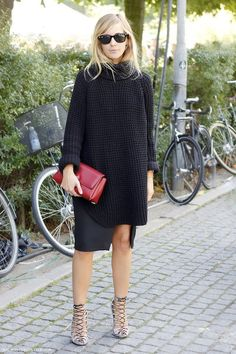 Photos via: Malmo Streetstyle Crazy cool street style look from Emma Elwin. She was snapped in...