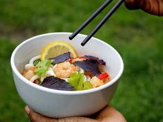 Yummy Recipes: Prawn and Coconut Noodles
