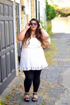 From the Corners of the Curve Girl Outfits, Cute Outfits, Fashion Outfits, Curvy Fashion, Plus Size Fashion, Big Girl Clothes, Full Figure Fashion, Curvy Plus Size, Fashion Catalogue