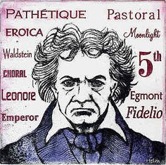 Beethoven Ludwig Bonn Germania- Vienna Austria-by Paul Helm Compositor Musical, Dead Can Dance, Classical Music Composers, Clannad, Playing Piano, Music School, Ludwig, Elementary Music, In A Nutshell