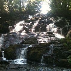 Waterfall in Vogel State Park, Blairsville, GA