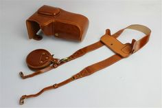 BolinUS Handmade PU Leather FullBody Camera Case Bag Cover for Nikon D5500 with 18-105mm lens Bottom Opening Version + Neck Strap + Mini Storage Bag -Brown -- Awesome products selected by Anna Churchill