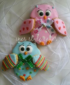 owls | Cookie Connection