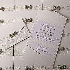 vintage style pocket invitation to make yoursel