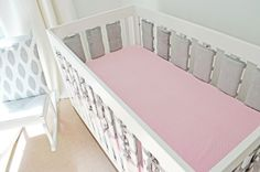 Safe Ventilated Crib Bumper by Oliver B