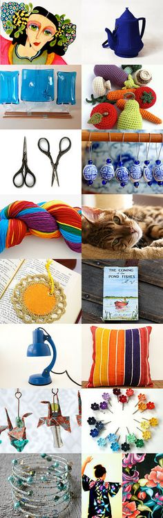 Boho Early Spring Weekend by Jenn G. on Etsy--Pinned with TreasuryPin.com