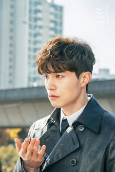 (notitle) Sure, the bushy perms of the might be out of vogue, but there are plentitude of hair p Permed Hairstyles, Boy Hairstyles, Men Perm, Korean Perm, Goblin Korean Drama, Korean Haircut, Dramas, Getting A Perm, Asian Men Hairstyle