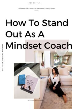 Want to stand out as a mindset coach, manifestation coach, spiritual coach or life coach? In my latest blog post, I share with you some tips to help you stand out, become a coach, attract the clients you want, and make money doing what you love while helping people!