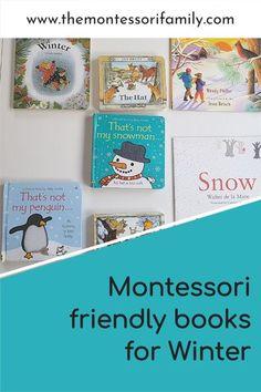Montessori friendly books for winter Kindergarten Books, Preschool Books, Book Activities, Preschool Activities, Snowflake Bentley, Wordless Book, Montessori Books, Bookshelves Kids, Halloween Books