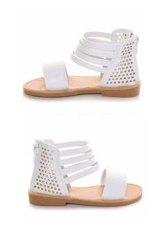 Little gladiators need fierce shoes. #sandals #summer #kids #girls