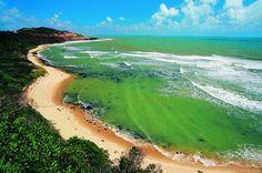 And we went! To Praia do Amor, Pipa, Brasil