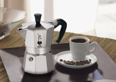 The Bialetti Moka espresso maker is a classic and gets our vote for best in its category.