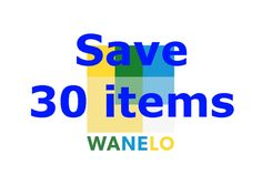 save 30 items on wanelo to my 3000 followers by eli2309