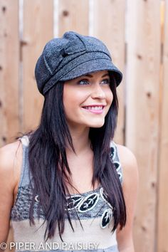 my next hat from Piper and Paisley on Etsy. Love these hats!!!