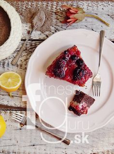 Tvarohovo-ovocný dezert z makovej múky
