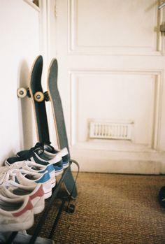 Pro-skater Leo Valls show us around his home — Freunde von Freunden
