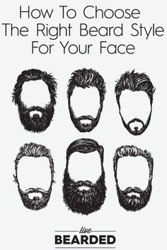 Beard Care Tips: How To Choose The Right Beard Style For Your Face   Beard Styles   Bearded Men  