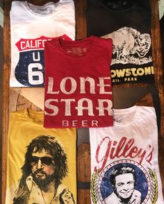 Tee's from all of your favorite brands, like Midnight Rider, Bandit Brand, Schott & Retro Brand.