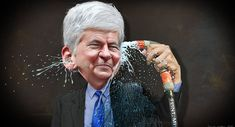 GOP Governor Rick Snyder May Face Long Prison Term In Mass Child Poisoning; February 11, 2016, Veterans Today: Michigan Governor Accused of Withholding Critical Info in Flint Water Crisis
