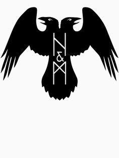 huginn and muninn Druid Symbols, Norse Runes, Viking Symbols, Norse Mythology, Thor Tattoo, Norse Tattoo, Celtic Tattoos, Crest Tattoo, Tattoo Ink