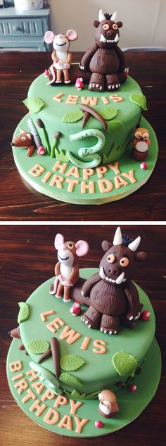 CAKE CLUB | THE GRUFFALO BIRTHDAY CAKES